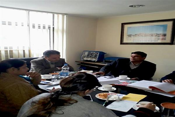 Rafi Mir directs formulation of Service Laws and regularisation of casual workers of JKTDC