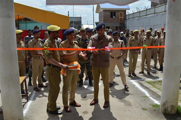 DIG South Kashmir inaugurates SDPO Office, Police Station at Liter Pulwama