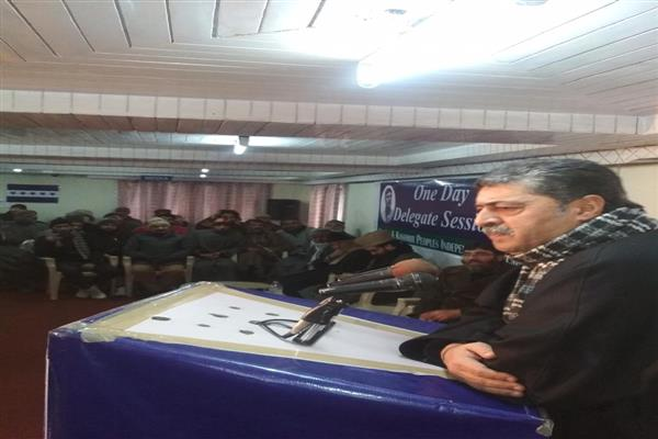 300 youth of JKPIM volunteer as security guards of Bilal Lone