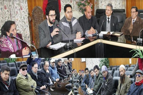 DC urges civil society to play its role in maintaining peace and amity in Srinagar