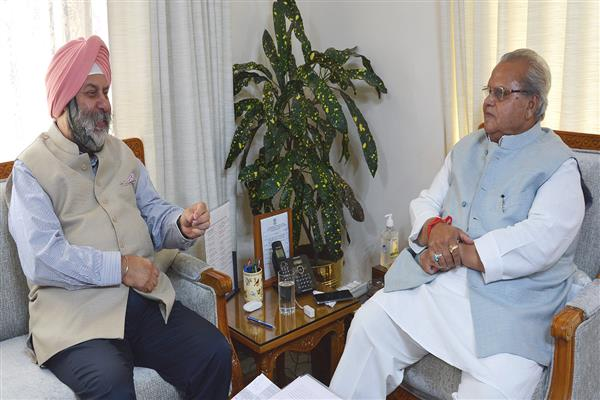 Indian Ambassador to Nepal meets Governor