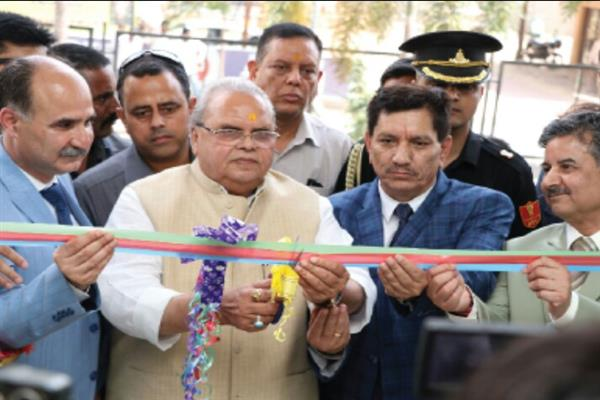 Governor inaugurates J&K Bank branch in Shirdi, Maharashtra