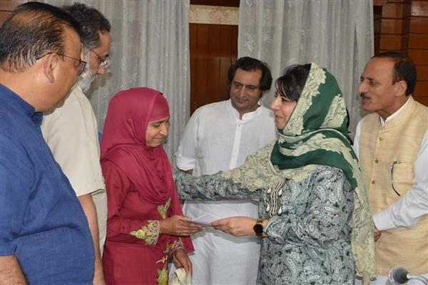 Violence won't resolve issues, it only inflicts pain: Mehbooba