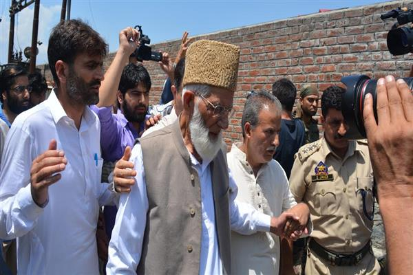 Family members denied permission to meet ailing Geelani