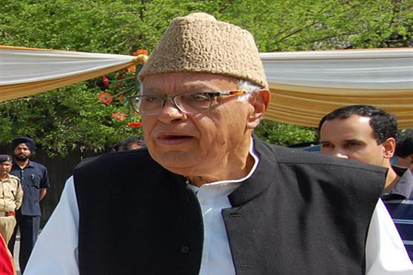 Stop playing politics of deceit: Dr Farooq Abdullah