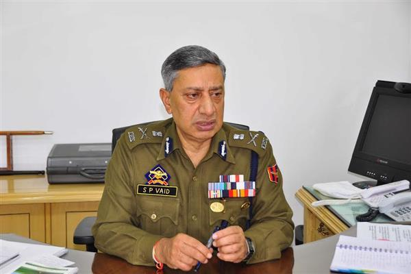 Separatist leaders free to carry out religious, peaceful activities: DGP