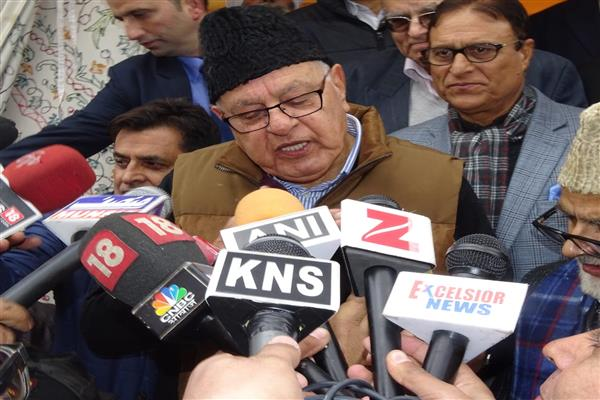Time to reverse extension of Central Laws to J&K: Dr Farooq