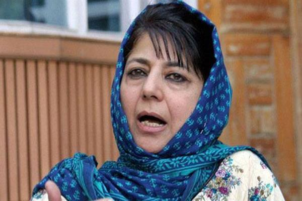 Mehbooba pleads for more facilities to Hajj pilgrims