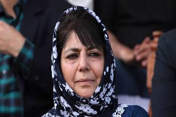 Mehbooba anguished over cross border killings