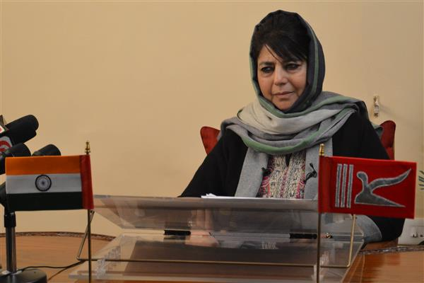 Mehbooba hopes all shades of opinion would join the dialogue process