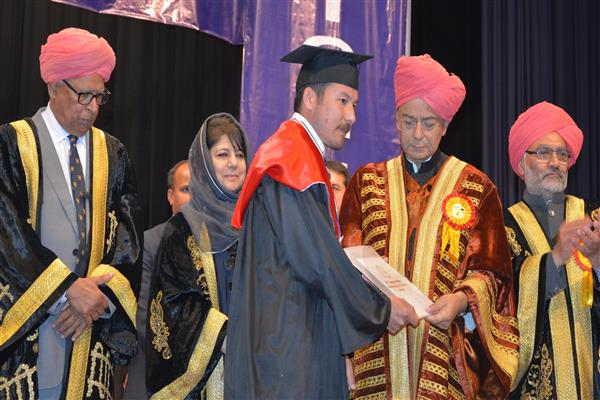 Mehbooba expresses her resolve to create a knowledge society