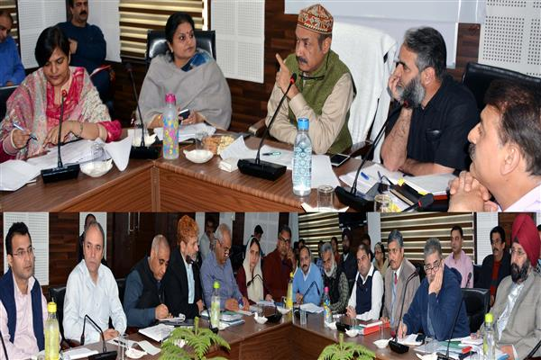 Basharat Bukhari directs dept to establish Agro-Climate specific fruit nurseries