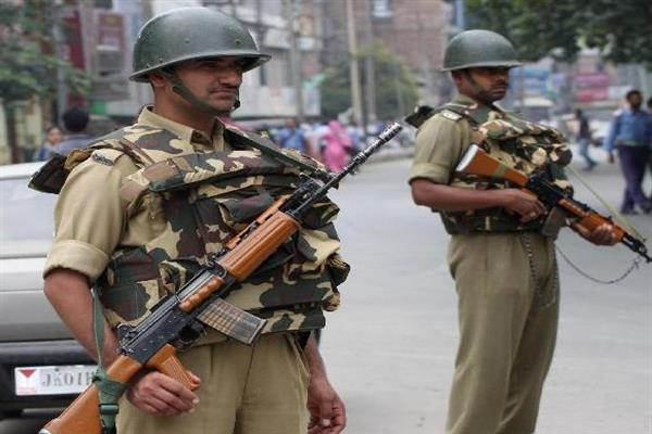 MHA asked security forces in JK to remain vigilant at all levels