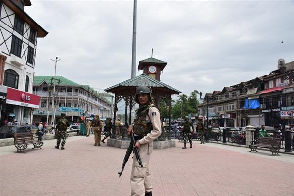 Tight security in JK ahead of Independence Day celebrations