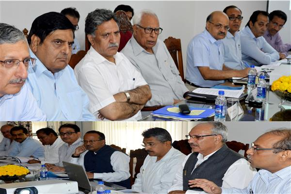 Governor reviews NHIDCL roads and Tunnels Projects