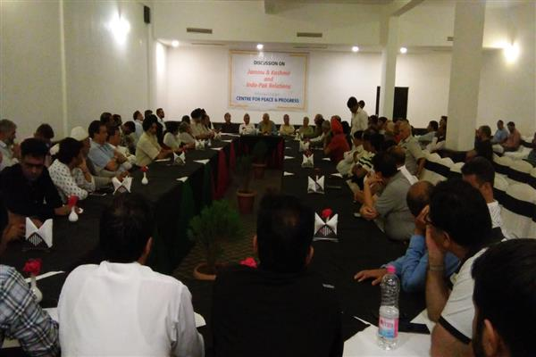 Centre for Peace and Progress organizes day-long seminar on Kashmir