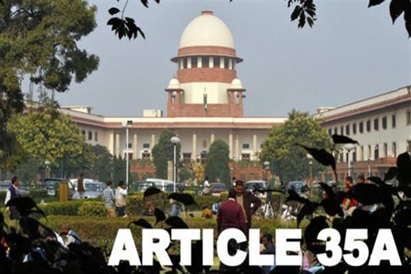 JK Government to defend Article 35-A on next date of hearing