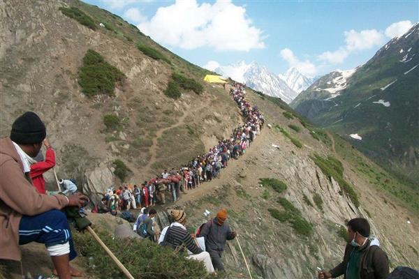 Peaceful Amarnath Yatra proves 'Studio rumour mongers' wrong: Civil Society