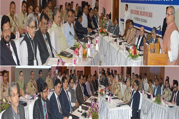 Governor inaugurates conference of Deputy Commissioners, District SSPs