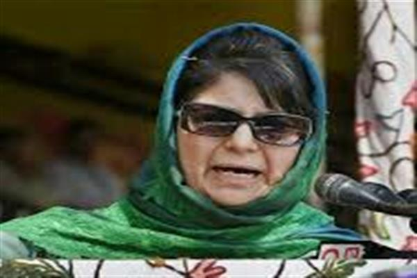 Mehbooba asks NIA to bring facts about its probes in JK in public domain