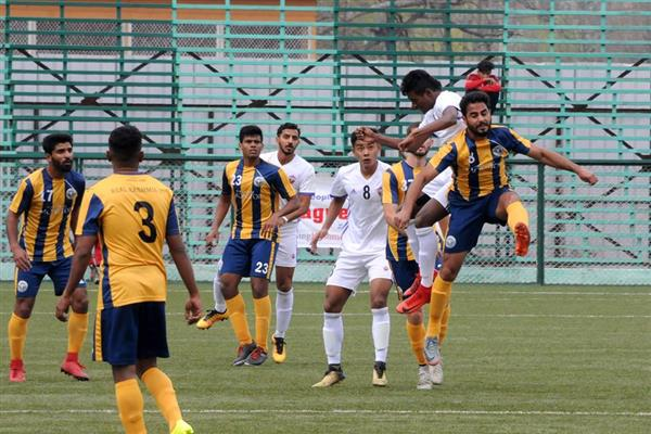Under repaired Bakshi Stadium forced JK to host I-League match at TRC