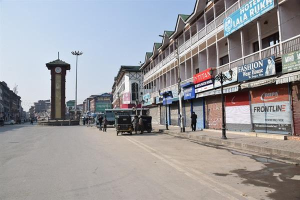 Kashmir shuts on JRL's call against Panchayat polls