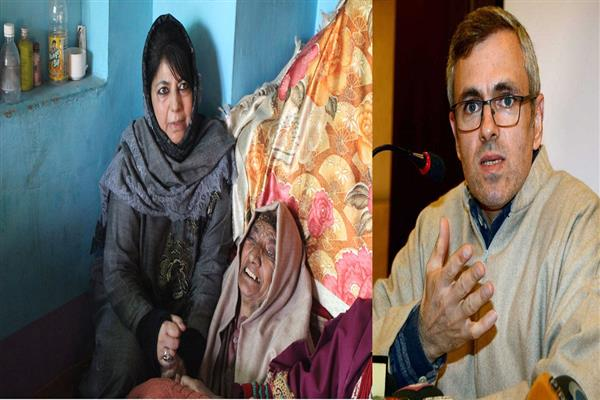 Mehbooba continues to visit families of militants, says 'they should not be harassed'