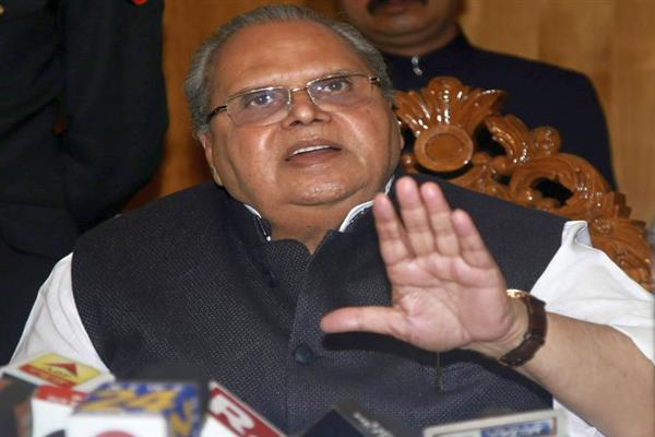 Mehbooba's party is falling apart, don't take her serious: Governor Malik