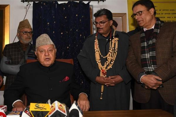 Repressive measures, arrests won't yield any result: Dr. Farooq