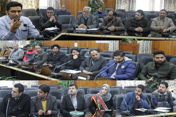 Green Srinagar Initiative: Dr Shahid Iqbal calls on banks to join hands with administration