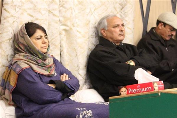 Will not allow BJP to turn JK into war theatre for electoral gains: Mehbooba