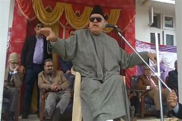 BJP has miserably failed to deliver on ground: Farooq Abdullah
