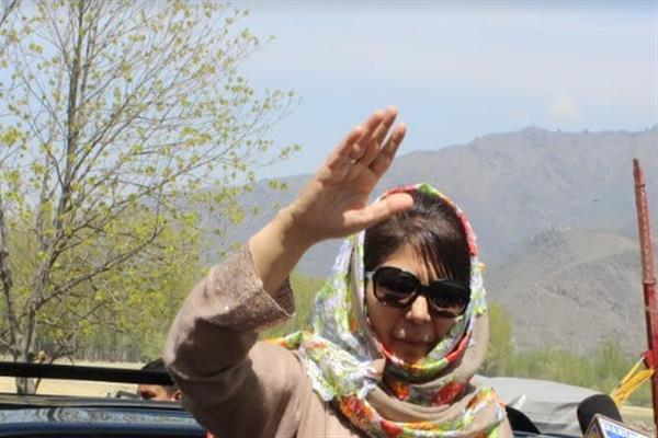 PDP files PIL against highway ban, hearing tomorrow: Mehbooba