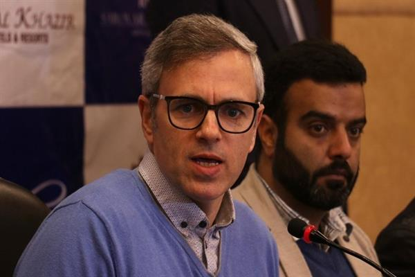Development of Srinagar marred by government's apathy: Omar
