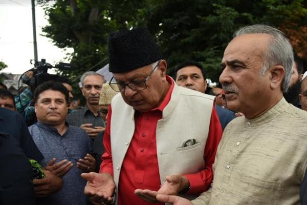 Satya Pal Malik is BJP's Governor: Dr Farooq