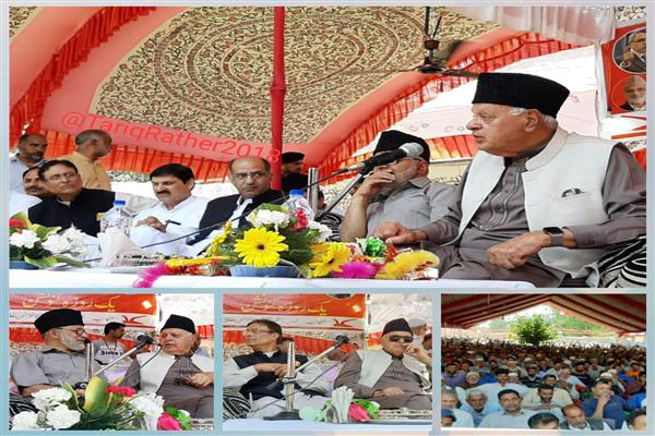 Annulling Art 370, Art 35-A will tantamount to a constitutional coup: Dr Farooq Abdullah