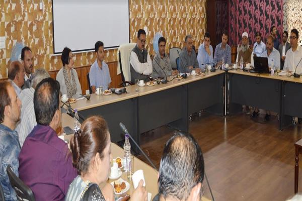 Govt to undertake massive campaign to promote JK as ideal, safe tourist destination: Navin Chaudhary