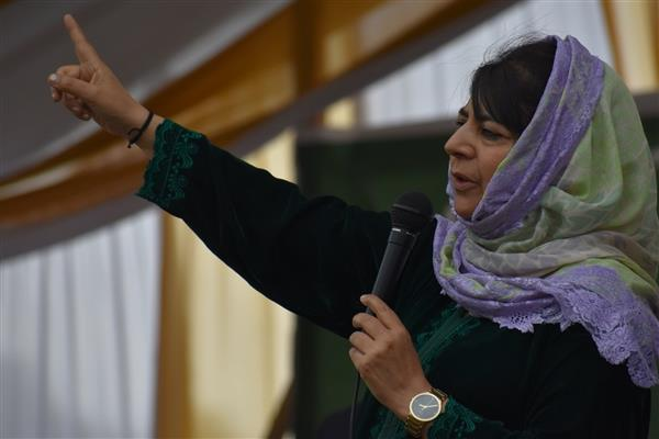 Forge unity to thwart possible assault on state's Special status: Mehbooba to party workers