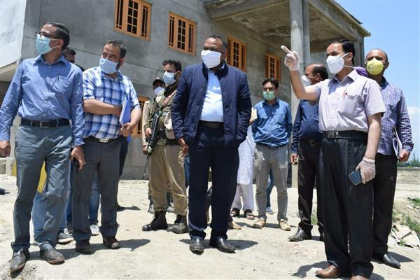Div Com Kashmir Conducts Extensive Tour of B'la, Took Review on the  Progress of various Developmental Works
