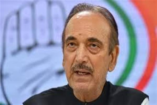 Congress Leader Ghulam Nabi Azad tests Covid-19 Positive