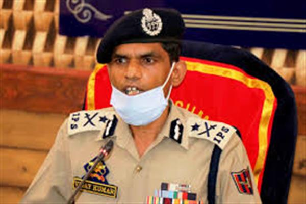 06 militant associates involved in 'highway attacks' arrested; vehicles used for also seized: IGP Kashmir Vijay Kumar
