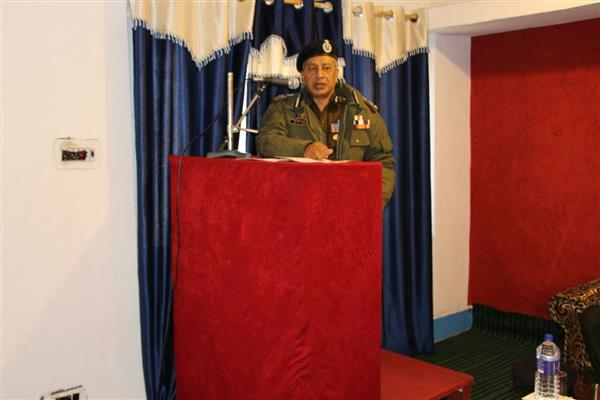 Proud of my officers, Jawans for doing excellent work: DGP Vaid