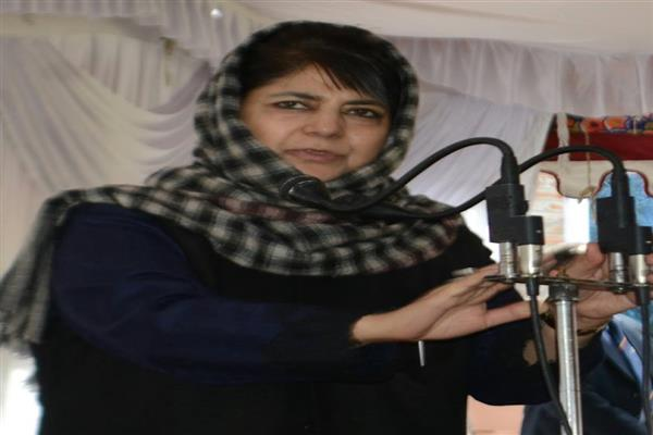 Healing touch: Mehbooba orders review of cases against youth for 2015-2017