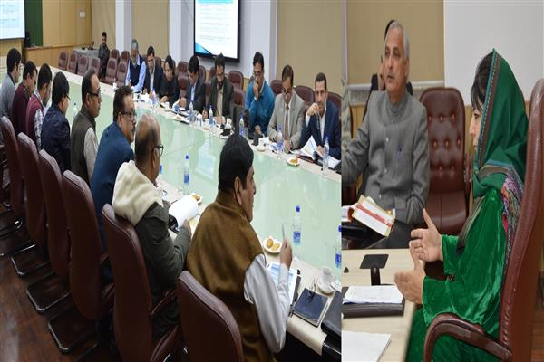 Mehbooba asks for scientific mapping of Custodian assets