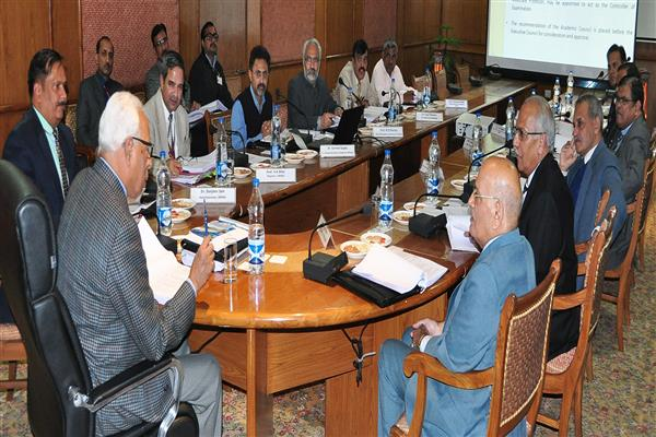 Governor chairs 27th EC Meeting of SMVDU
