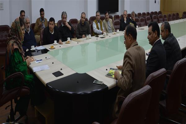 Delegation of KEG, KPC call on CM