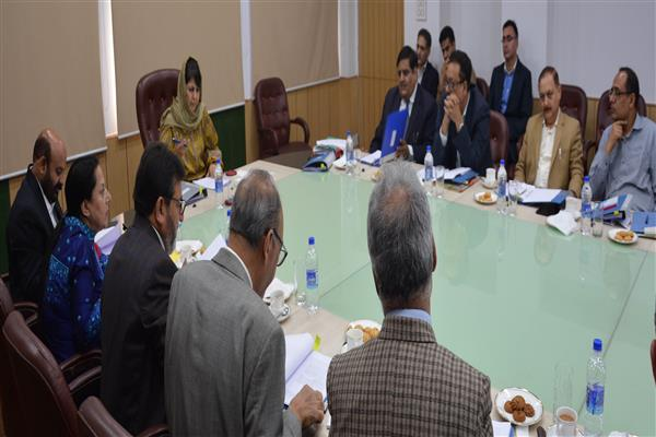 Mehbooba directs fast-pacing recruitments, devising annual calendar