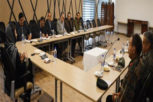 Mehbooba reviews security, L&O situation