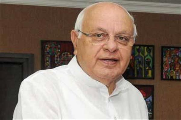 Vested interests wanting to erode J&K special Status: Farooq Abdullah