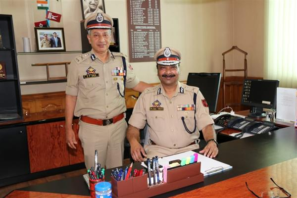 Dilbagh Singh takes over as new DGP